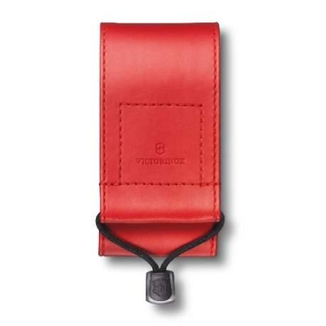 Etui couteau suisse Victorinox - cuir synthétique rouge