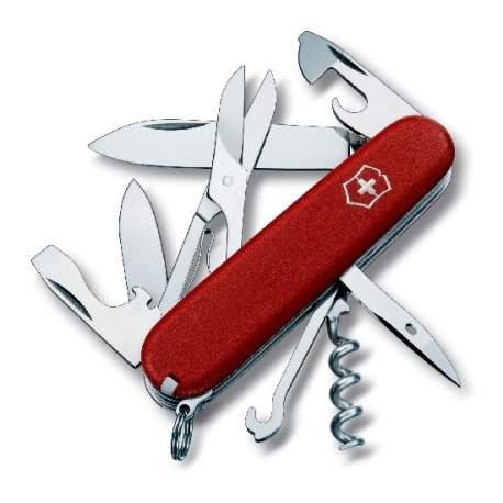 Couteau suisse CLIMBER rouge Ecoline