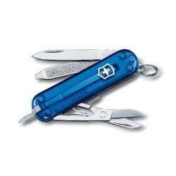 Couteau suisse SIGNATURE bleu translucide