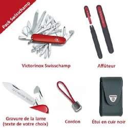 Pack Swisschamp + Accessoires