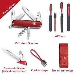 Pack Spartan + Accessoires