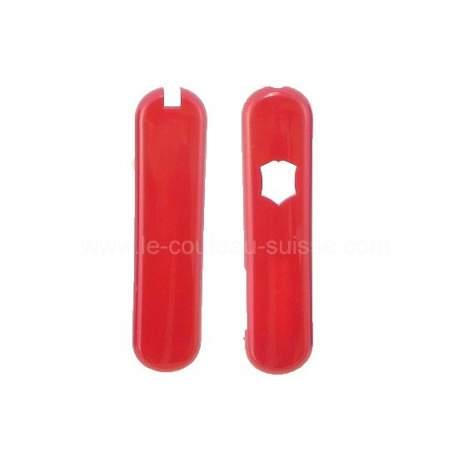 Plaquettes rouges Victorinox 58mm - Swisslite