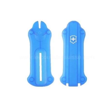 Plaquettes bleues translucides Victorinox Golftool
