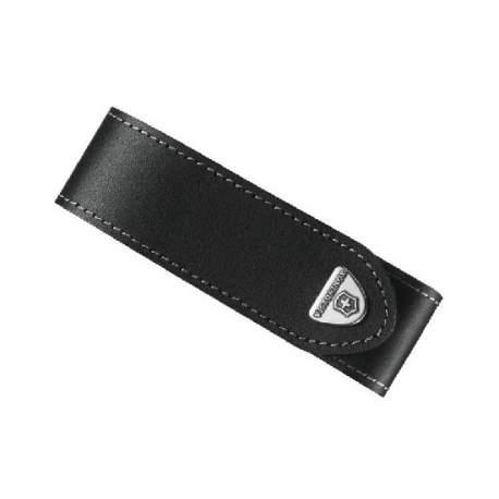Étui en cuir noir pour couteaux Victorinox Ranger