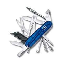 Cyber Tool 34 bleu translucide