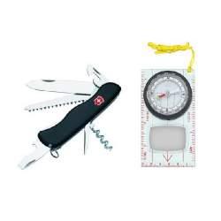 Couteau suisse FORESTER + Boussole
