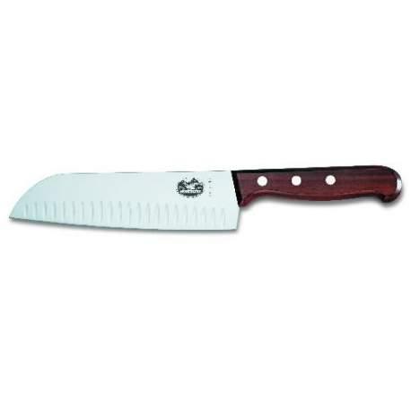 Couteau santoku alv ol manche palissandre - Le petit couteau santoku ...