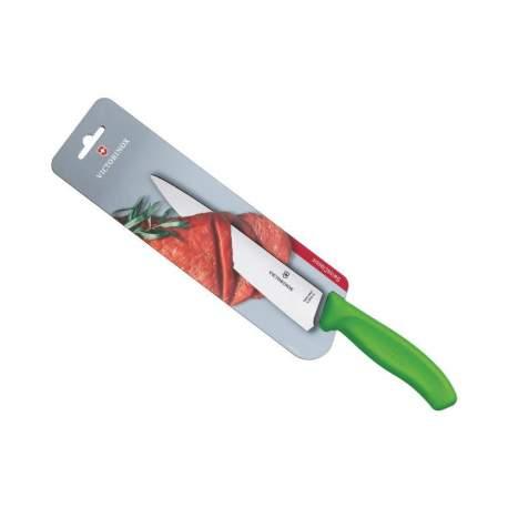 Couteau à découper SwissClassic Victorinox manche vert