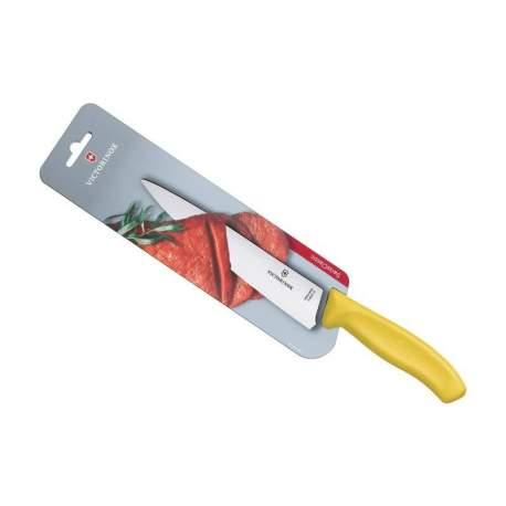 Couteau à découper Victorinox SwissClassic manche jaune