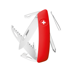 Couteau suisse Swiza D06 rouge