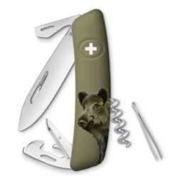 Couteau suisse Swiza D03 Édition limitée Sanglier