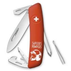 Couteau suisse Swiza D04 sapeurs pompiers