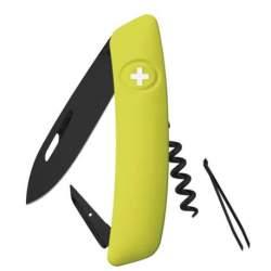 Couteau suisse Swiza D01 ALLBLACK mousse