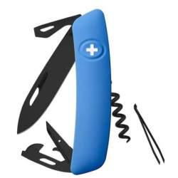 Couteau suisse Swiza D03 ALLBLACK bleu