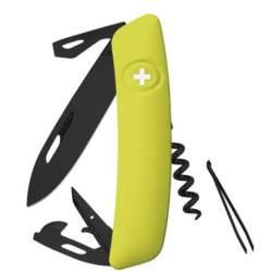 Couteau suisse Swiza D03 ALLBLACK mousse