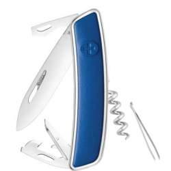 Couteau suisse Swiza D03 Leather bleu