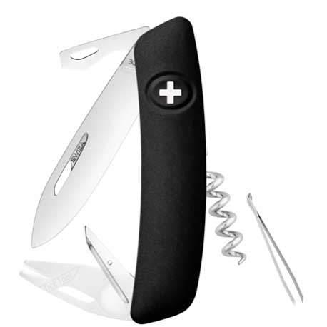 Couteau suisse Swiza Tick Tool TT03 noir