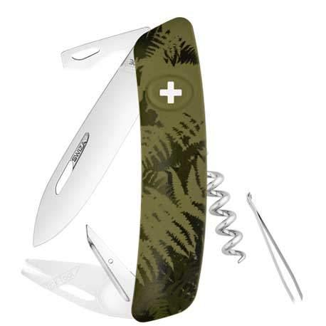 Couteau suisse Swiza Tick Tool TT03 Silva