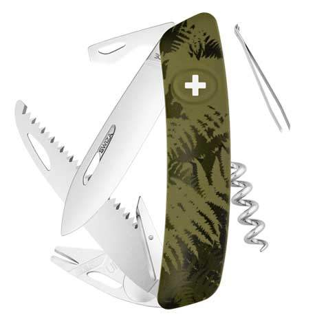 Couteau suisse Swiza Tick Tool TT05 Silva