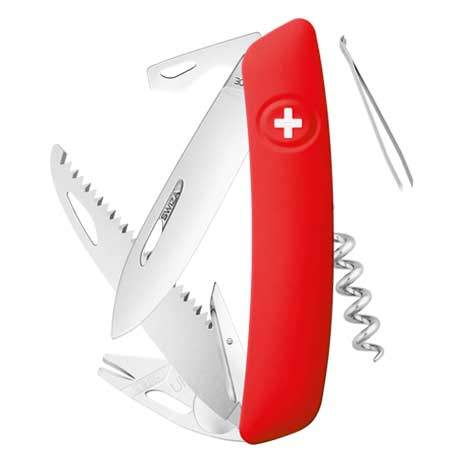 Couteau suisse Swiza Tick Tool TT05 rouge