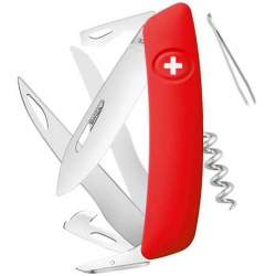Couteau suisse Swiza D07 rouge