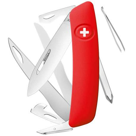 Couteau suisse Swiza D08 rouge