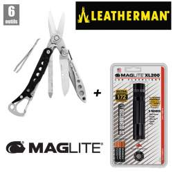 Leatherman Style CS + Maglite XL200