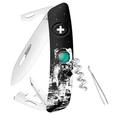 Couteau suisse Swiza D03 Moonwalk 50 noir