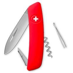 Couteau suisse Swiza D01 ALLMATT rouge