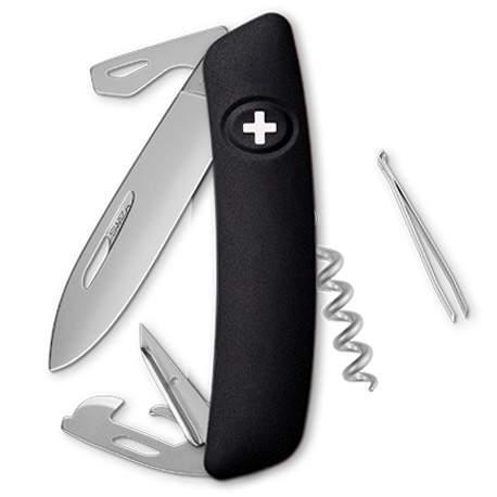 Couteau suisse Swiza D03 ALLMATT noir