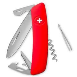 Couteau suisse Swiza D03 ALLMATT rouge