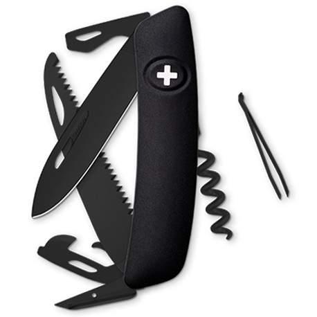 Couteau suisse Swiza D05 ALLBLACK noir