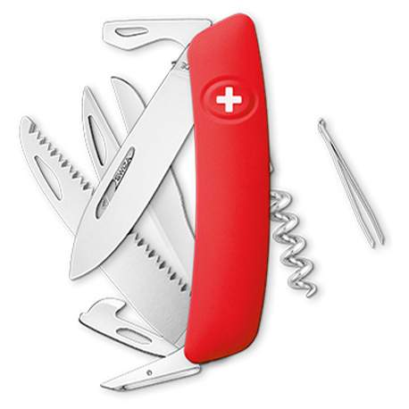 Couteau suisse Swiza D09 rouge
