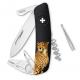Couteau suisse Swiza Tick Tool TT03 noir Guépard