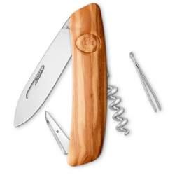 Couteau suisse Swiza D01 Wood - bois olivier