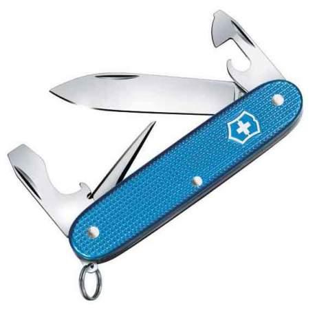 Couteau suisse Pioneer Alox Aqua Blue Limited Edition 2020