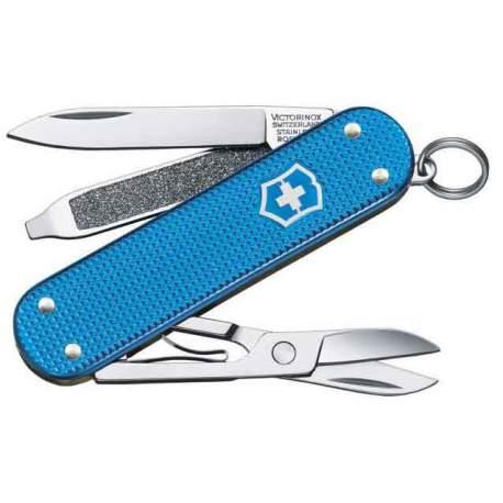Couteau suisse Classic Alox Aqua Blue Limited Edition 2020