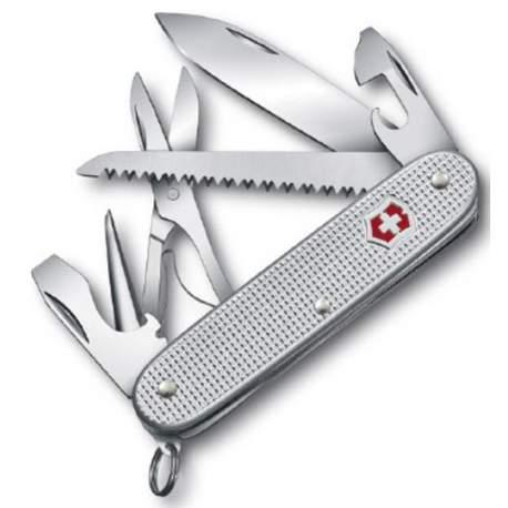 Couteau suisse Victorinox Farmer X alox gris