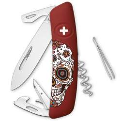 Couteau suisse Swiza D03 Mexican Skull