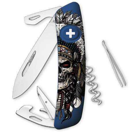 Couteau suisse Swiza D03 Indian Skull