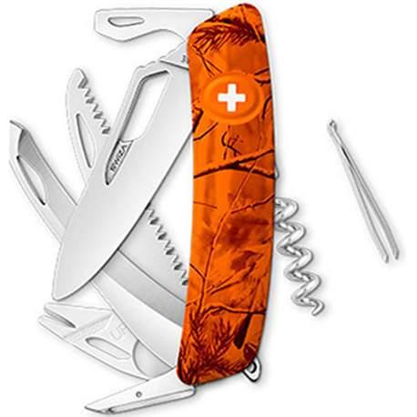 Couteau suisse Swiza Hunter SH09R orange - avec scie