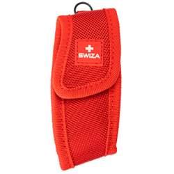 Étui nylon rouge pour couteaux suisses Swiza