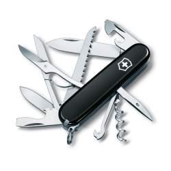 Couteau suisse Huntsman Black gravé