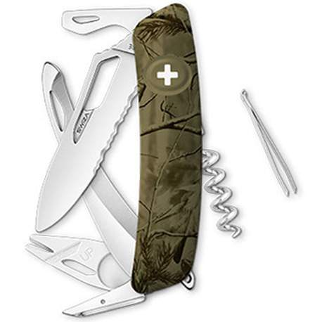 Couteau suisse Swiza Hunter SH05 olive