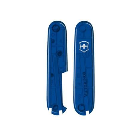 Plaquettes bleues translucides 91mm - emplacement stylo