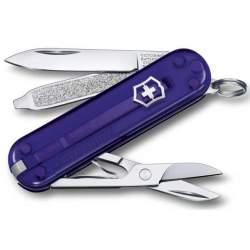 Couteau suisse CLASSIC SD translucide Persian Indigo