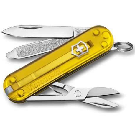 Couteau suisse CLASSIC SD translucide Tuscan Sun