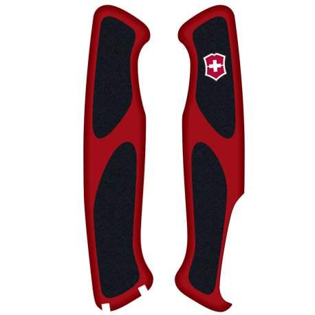 Plaquettes rouges/noires Victorinox Delémont Ranger Grip 130mm