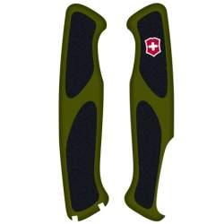 Plaquettes vertes/noires Victorinox Delémont Ranger Grip 130mm