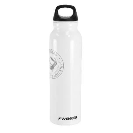 Gourde Wenger aluminium blanche 800ml
